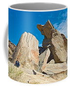 Rock Uplifts In Andreas Canyon In Indian Canyons-ca Coffee Mug