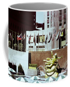 Prometheus Rockefeller Plaza 1950 Coffee Mug