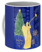 Rockefeller Angel Coffee Mug