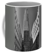 Ge Building In Black And White Coffee Mug