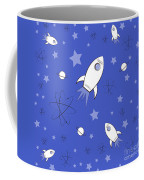 Rocket Science Dark Blue Coffee Mug