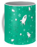 Rocket Science Green Coffee Mug