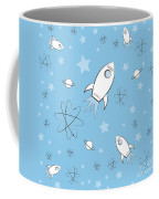 Rocket Science Light Blue Coffee Mug