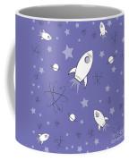 Rocket Science Purple Coffee Mug