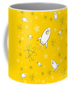 Rocket Science Yellow Coffee Mug
