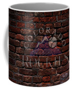 Rockies Baseball Graffiti On Brick  Coffee Mug by Movie Poster Prints