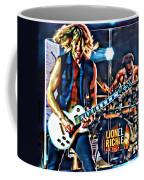 Rockin Guitarist Coffee Mug