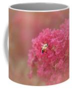 Rockin Pink Bee Coffee Mug