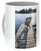 Rocking Chair On Dock Coffee Mug