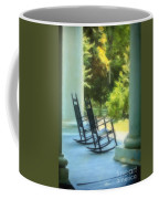 Rocking Chairs And Columns Coffee Mug