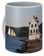 Rockland Breakwater Light 8986 Coffee Mug