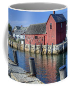 Rockport Fishing Village Coffee Mug