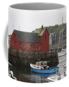 Rockport Inner Harbor With Lobster Fleet And Motif No.1 Coffee Mug