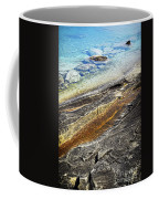 Rocks And Clear Water Abstract Coffee Mug