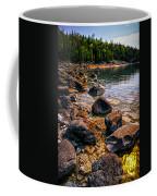 Rocks At Shore Of Georgian Bay Coffee Mug