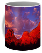 Rocks At Sunset Sedona Az Usa Coffee Mug