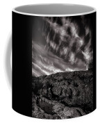 Rocks Clouds Water Coffee Mug