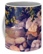Rocks In Stream Coffee Mug