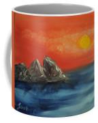 Rocks In The Flathead Lake Coffee Mug