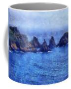 Rocks On Isle Of Guernsey Coffee Mug