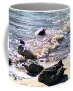 Rocks On The Bay Coffee Mug