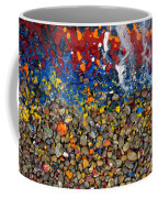 Rocks Splattered With Paint Coffee Mug by Amy Cicconi