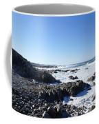 Rocky Beach Coffee Mug by Barbara Snyder
