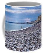 Rocky Beach Normandy France Coffee Mug