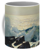 Rocky Coast And Sea Coffee Mug