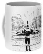 Rocky Is Philadelphia Coffee Mug by Bill Cannon