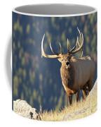 Rocky Mountain Bull Elk Bugling Coffee Mug