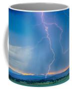 Rocky Mountain Foothills Lightning Strikes 2 Hdr Coffee Mug