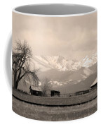 Rocky Mountain Lafayette Sepia Views Coffee Mug