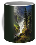 Rocky Mountain Waterfall Coffee Mug