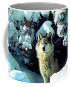 Rocky Mountain Wolf Coffee Mug