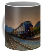 Rocky Mountaineer Sunrise Coffee Mug