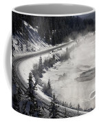 Rocky Mountains In Winter Coffee Mug