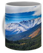 Rocky Mountains Independence Pass Coffee Mug by James BO  Insogna