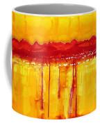 Rocky Mountains Original Painting Coffee Mug