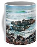 Rocky Ocean Shoreline One Coffee Mug