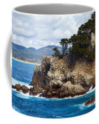 Rocky Outcropping At Point Lobos Coffee Mug