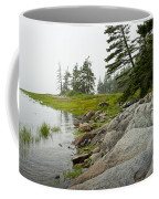 Rocky Shore By The Narrows To Mount Desert Island Coffee Mug