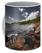 Rocky Shore Of Georgian Bay I Coffee Mug