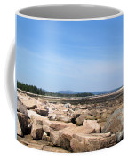 Rocky Shore To Rocky Mountain Coffee Mug