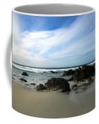 Rocky Shoreline At Spanish Bay Coffee Mug