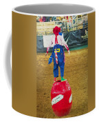 Rodeo Barrel Clown Coffee Mug