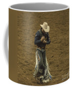 Rodeo Cowboy Dusting Off Coffee Mug