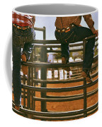 Rodeo Fence Sitters- Warm Toned Coffee Mug