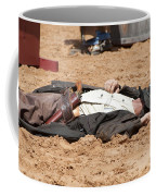 Rodeo Gunslinger Victim Color Coffee Mug