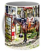 Rodeo Horse Three Coffee Mug
